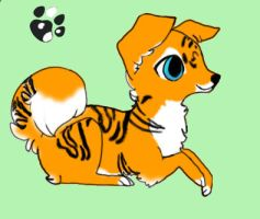 Tiger puppy adopt OPEN by NiveousLamia