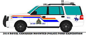 2014 Royal Canadian Mounted Police Ford Expedition by mcspyder1