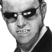 Agent Smith in Pencil by iamrafsusername