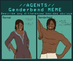 Agent MeMe GenderBent 53 by nameless-me
