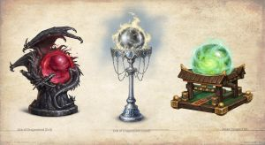 Artifacts and Legends_2 by KateMaxpaint