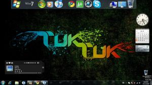 Blue Aqua Win 7 - mod by Niro6