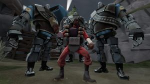 Demo - Heavybot Attack in MvM by PrincessBloodyMary