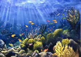 Under the sea by JoaRosa