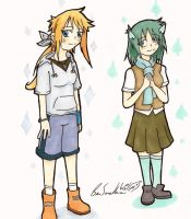 Ruth and Elly - Alternate Clothes by Wonchop