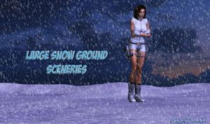 Large Snow Ground Sceneries by bstylez