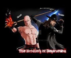 The Brothers of Dectruction by Kane4420