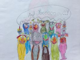 Muppet Group singing And Yoooou by nintendolover2010