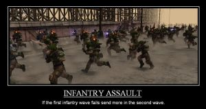 Infantry Assault by NavalAce