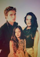 Edward, Bella Renesmee's family portrait by NENEnewby