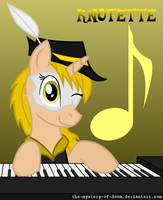 Knotette: The Melodious Heroine... by The-Mystery-Of-Doom