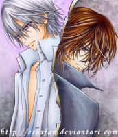 Zero and Kaname .VK. by escafan