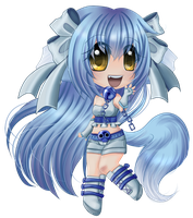 Hinoki Chibi Commission by ChaoticBlossoms
