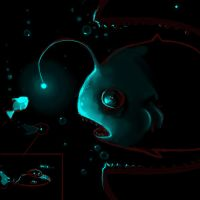 Deep water drama by Lollo