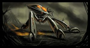 Spiderbot by PReilly
