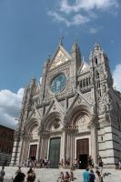 Siena church by Dodephine