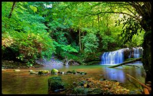 Waterfall 1 by cgphotopro