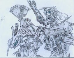 Hmm Random Mecha by LouieJohn08