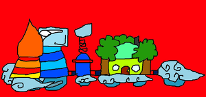 Christmas Trains 12 by conlimic000