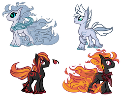 .:MLP: Spectrals [Closed Species]:. by Goddess-of-BUTTSECKS
