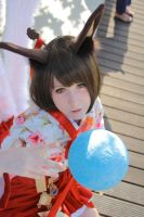 Ahri Dynasty Cosplay I by Kairi-i