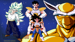 Dragonball Sq Poster comission by WarlockMaster