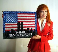 New York 9.11.01 beadwork art by Sofia Metal Queen by SOFIAMETALQUEEN