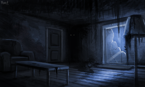 DAY 211. Abandoned Living Room (30 Minutes) by Cryptid-Creations
