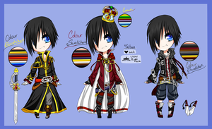 Custom and 2 outfits for Tsukiharu by Levy-House