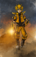 Human mode Bumblebee. by 90ryuya