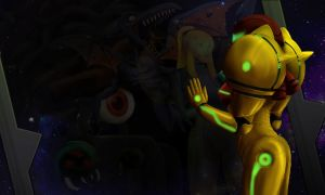 Metroid Reflection by dhkite