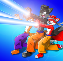 Shadz Family Kamehameha V2 by Shadz-the-Fox