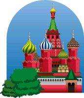 St. Basil's Cathedral, Moscow by cr3ative