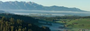 Morning in Switzerland by MarcZingg