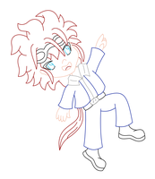 Reno Lineart by MikariStar