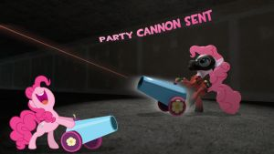 [SENT]Pinkie pie Cannon by CobbaltCO
