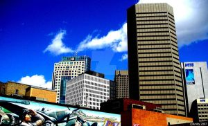 Winnipeg Skyline by x-StarStruck-x