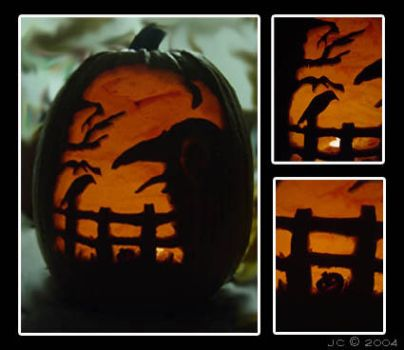 Pumpkin Carving by Crow-Conglomerate