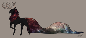 [Closed] Galaxy Deneer Adoptable by TheTigerBlossom