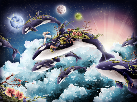 Hopes, dreams and flying orcas by nuuti
