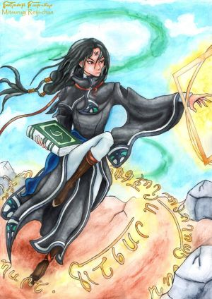Soren, the wind mage by Mitsurugi-Reiji-chan