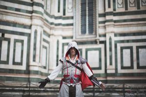 Ezio Auditore in Firenze- Assassin's Creed Cosplay by LeonChiroCosplayArt