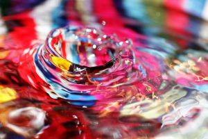 Colour water drop 2 by evilmatt69