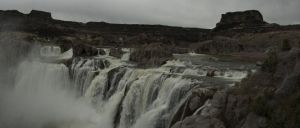 They said I was crazy to panorama the falls! by Hinatalover17