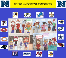 NFL Project 2013 NFC by WindyCityPuma