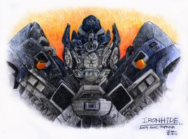 IRONHIDE by Ghostrider21