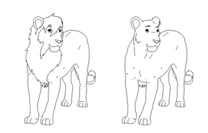 Lion bases free use by Wolfs-Hybrid