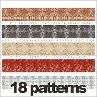 18 patterns - set 1 by yunyunsarang