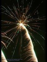 New Year Fireworks III by GMCPhotographics