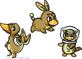 Gen 5 Starters Revealed by foxiz